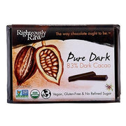 83% Pure Dark Chocolate Cacao Bar - Righteous Cacao