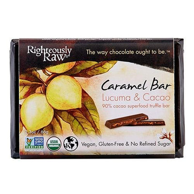 90% Cacao Caramel Bar - Righteous Cacao