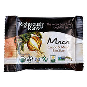 Maca & Dark Chocolate Bite Size - Righteous Cacao