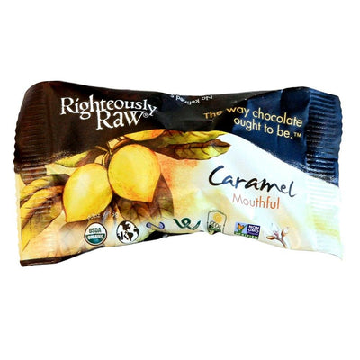 Raw Chocolate Caramel Mouthfuls - Righteous Cacao