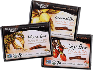 righteously bestseller chocolate bars