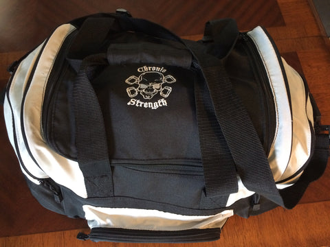 Chronic Strength Blk/Wht Duffel Bag