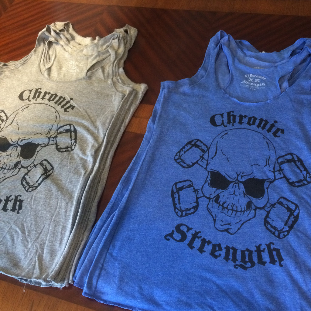 Chronic Strength Racer Back Tank