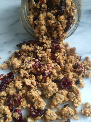 Cranberry Protein Crumble