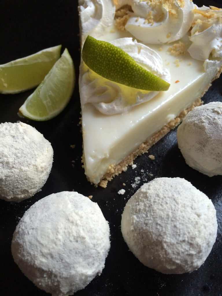 Key Lime Pie Chronic Protein Truffles