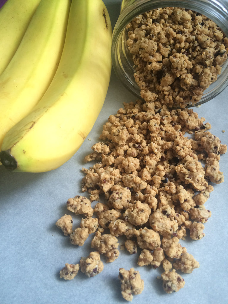 Banana Chronic Protein Crumble