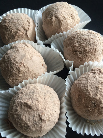 Fudge Brownie Protein Truffles