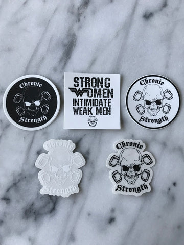 Chronic Strength Sticker Pack