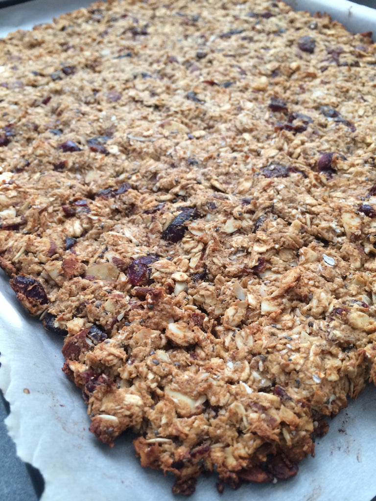 Maple Cranberry Protein Granola