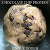 Vegan Chocolate Chip Protein Cookie Dough