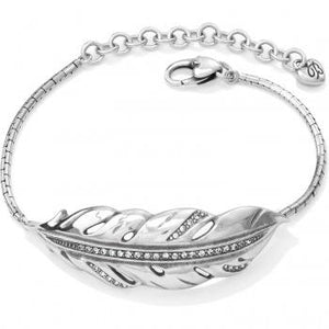 Brighton Contempo Ice Feather Bracelet