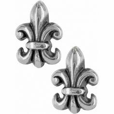 Brighton Fleur De Lis Mini Post Earrings