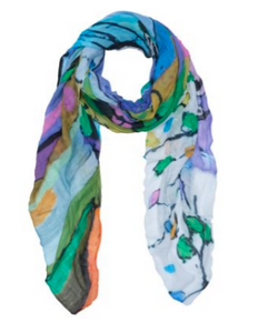 Dolcezza Art Scarf Still Life For A Wedding Party