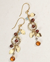 Load image into Gallery viewer, Holly Yashi Fairy Garden Drop Earrings