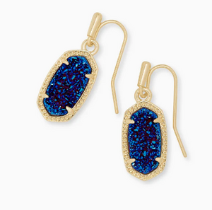 Kendra Scott Dani Earring IN Rose Gold Navy Dusted