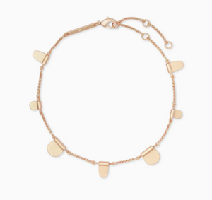 Kendra Scott Tabi Rose Gold Anklet