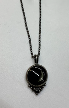 Load image into Gallery viewer, Moonglow Phase 1A Pewter Necklace