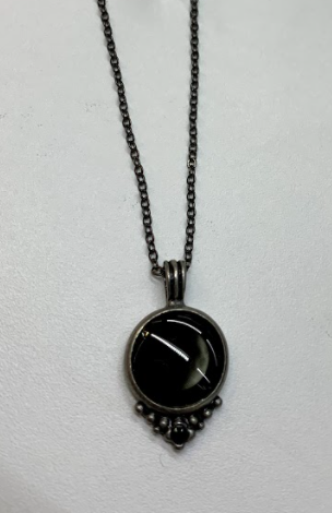 Moonglow Phase 1A Pewter Necklace