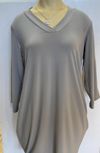 Sympli Shift Tunic 3/4 Sleeve
