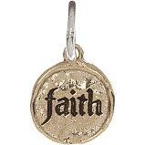 Waxing Poetic Faith Charm