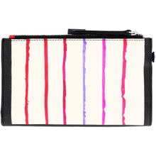 Load image into Gallery viewer, Brighton Fashionista Hot Lips Double Zip Wallet