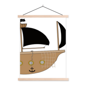 Poster piratenschip