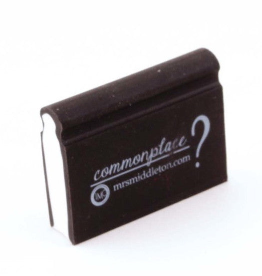 Commonplace eraser
