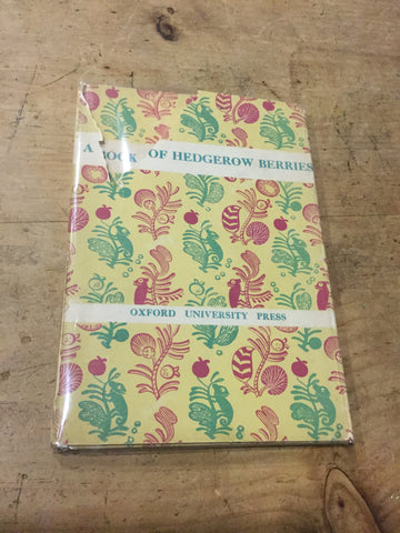 A Book of Hedgerow Berries