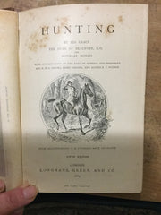 Hunting by the Duke of Beaufort