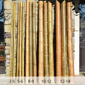 Dry bamboo sections