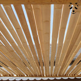 Dry Bamboo Slats L 5-7 cm l 200 cm | Dry bamboo sections