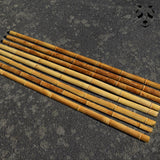 Bamboo cane strips