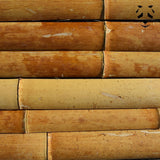 Strips of dry bamboo sections