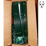 Package with the material to protect your potted bamboo in winter