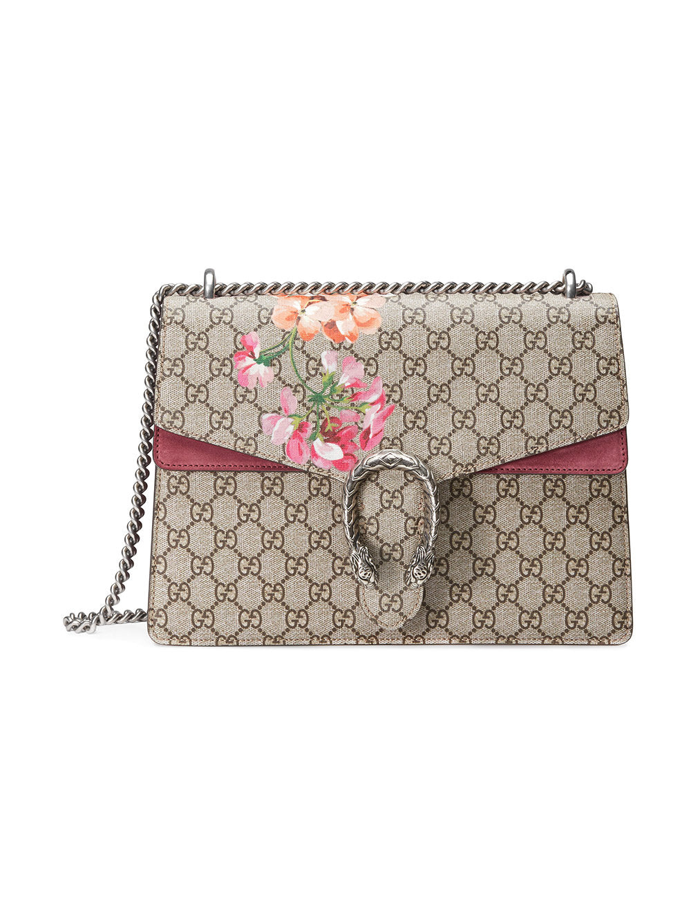 Gucci Dionysus Handbag Blooms Print GG Coated Canvas Medium We Offer You    1 0fb4f8098