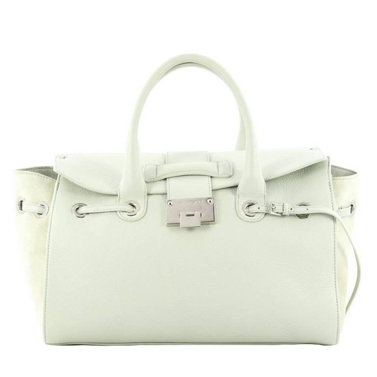167498c5e034 Jimmy Choo Rosalie Convertible Satchel Leather Medium We Offer You   210