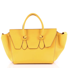 Celine Tie Knot Tote Grainy Leather Large