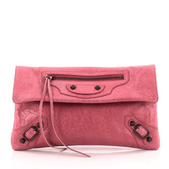 Balenciaga Envelope Clutch Classic Studs Leather