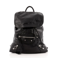Balenciaga Classic Traveler Backpack Leather Extra Small