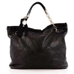 Lanvin Amalia Cabas Tote Leather Large
