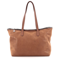 Stella McCartney Falabella Shopper Tote Shaggy Deer East West