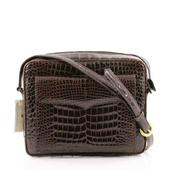 Lana Marks Camera Bag Crocodile Medium