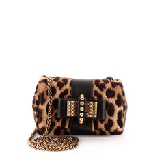 Christian Louboutin Sweet Charity Crossbody Bag Pony Hair Mini