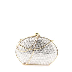Judith Leiber Dome Clutch Crystal Small