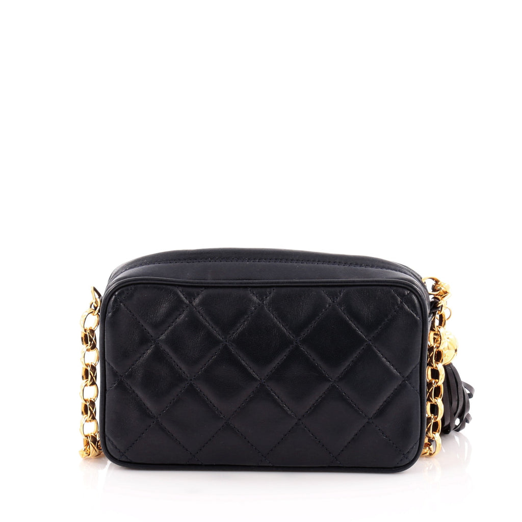 30daec1ac16d87 Buy Chanel Vintage Diamond CC Camera Bag Quilted Leather 1060002 – Rebag