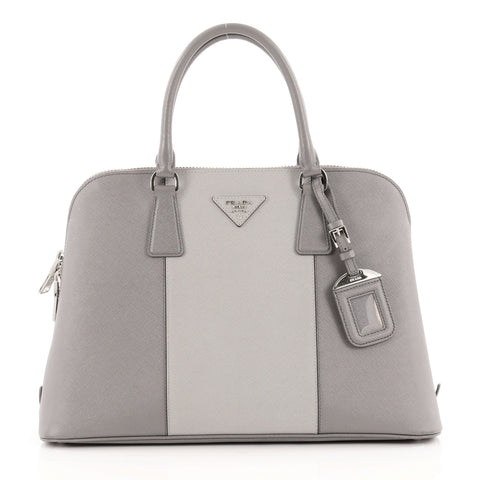 543b5c93357f Buy Prada Bicolor Promenade Handbag Saffiano Leather Medium 1060401 – Rebag