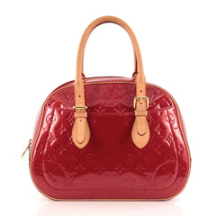 Louis Vuitton Summit Drive Handbag Monogram Vernis