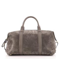 Tom Ford Convertible Weekender Handbag Suede Large