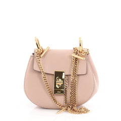 Chloe Drew Crossbody Bag Leather Nano