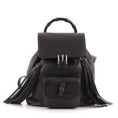 Gucci Bamboo Backpack Leather Mini